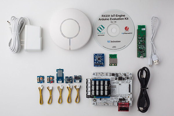 RX231 IoT-Engine Arduino Evaluation Kit